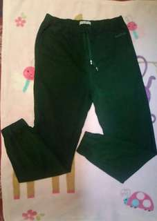 Jogger Pants Dark Green Heaven Earth.