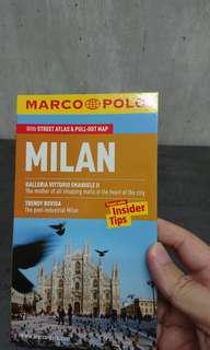 BN MARCO POLO Milan pocket guide and maps