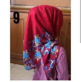 Hijab baru. Habisin stok aja