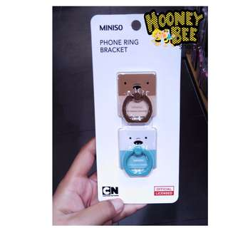 Miniso - iRing We Bare Bare Phone Ring Holder Handphone