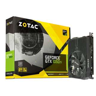 🚚 ZOTAC GeForce® GTX 1050 Ti Mini (ZT-P10510A-10L)