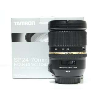 Tamron SP 24-70mm F2.8 Di VC USD Lens (Canon Mount)