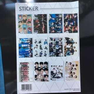 韓國製高質exo貼紙