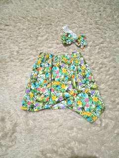 Flower Skirt with headband