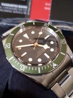 Tudor Harrods Black Bay Green Special Edition
