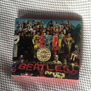 """Vintage Beatles """"Sgt. Pepper's Lonely Hearts Club Band"""" CD"""
