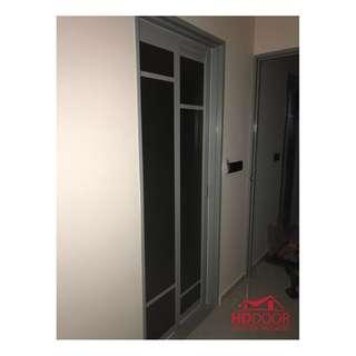 HDB Slide and Swing Toilet Door