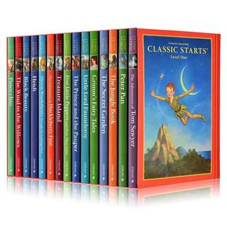💥NEW-  Sterling Classic Starts Set Of 15 books- Children story books