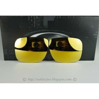 BNIB Oakley Holbrook Replacement Lens Kit 24k gold iridium 43-350
