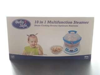 Baby safe - 10 in 1 multifunction steamer