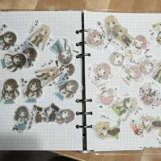 🚚 Decorative sticker, kawaii girl stickers