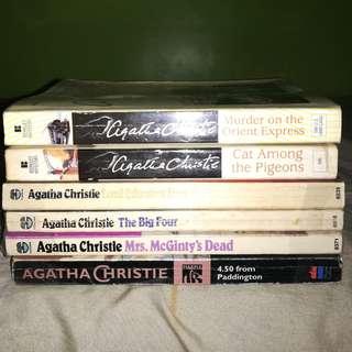 Agatha Christie novels