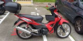 Honda wave for rent