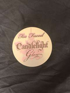 Too faced candlelight highlighting duo