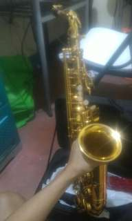 Alto Saxophone 5 months old only used 3 times