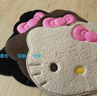 Hello Kitty Face DoorMat