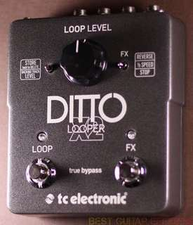 Ditto looper x2 tc electronics