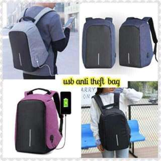 Anti Theft Bagback