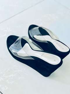 Amante Glass Shoes