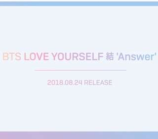 AUS GO Love Yourself Answer
