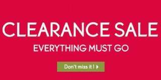 Everything Must Go! 25% off on all items!