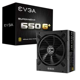 🚚 EVGA SuperNOVA 650 G1+, 80 Plus Gold 650W, Fully Modular, FDB Fan, 10 Year Warranty, Includes Power ON Self Tester, (120-GP-0650-X1)