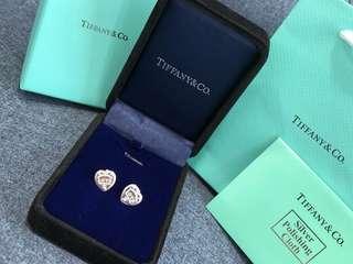 【正貨·正品】 Tiffany&Co 經典款純銀心形耳環Earrings  🎁🎁配全套包裝+紙袋🛍