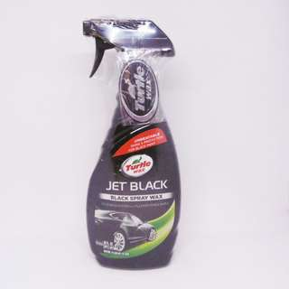 Turtle wax Jet Black black Spray Wax T-11