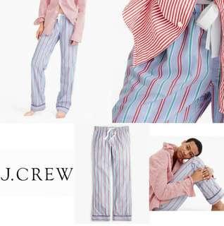 Jcrew Stripe Pajamas Pants