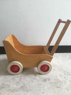 Wooden Push car / Walker