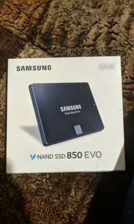 Samsung Evo 850 500GB SSD BNIB