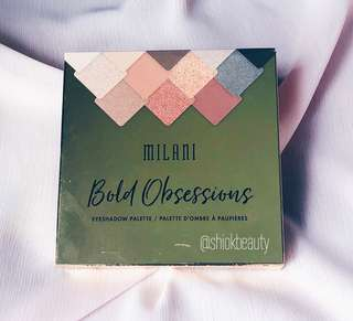 Milani Bold Obsession Eyeshadow Palette *INSTOCK*