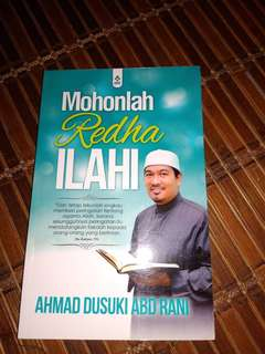 Buku Mohonlah Redha Ilahi