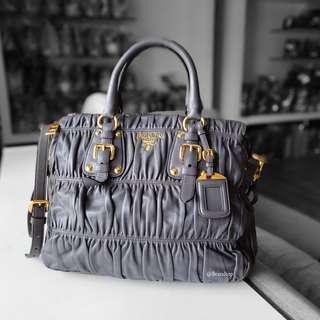 Authentic Prada Nappa Leather Gaufre BN1336