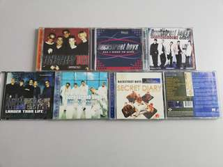 Combo CD Backstreet' Boys