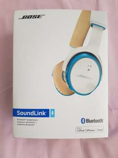 Bose soundlink Bluetooth headphones