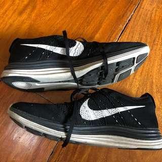 Nike Flyknit Lunar 1+ Black & White