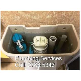 Plumbing Services, Plumber Install, Toilet Bowl Replacement, Clear Choke, Fix Leaks, All Plumber Work