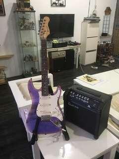 Set guitar electric