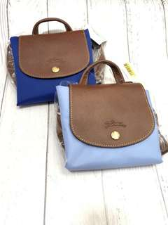 全新正貨 兩色現貨  Longchamp backpack