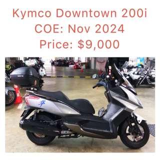 Kymco Downtown 200i