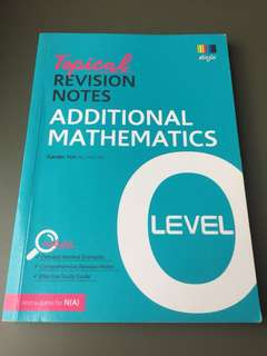 A Maths Revision Guide O levels