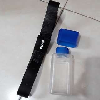 Botol minum free belt fashion