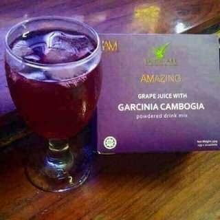 Slimming Grape Juice with Garcinia Cambogia