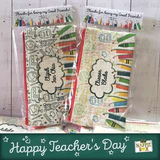 Teacher's Day Gift - Personalized Pencil Case