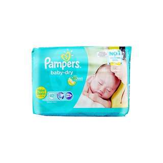 BN Pampers Baby Dry in Newborn
