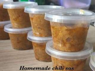 Homemade chili sos Rm2 sahaja