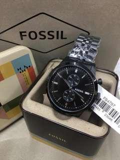 FOSSILS WATCH W/BOX