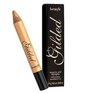 Benefit Gilded Highlighting Pencil- Tangerine Gold Highlighter. New. RRP$45