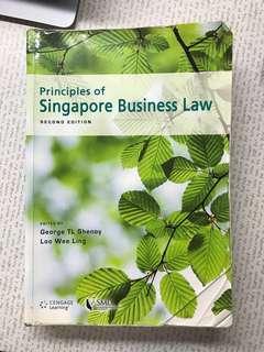 Singapore Business Law LGST101